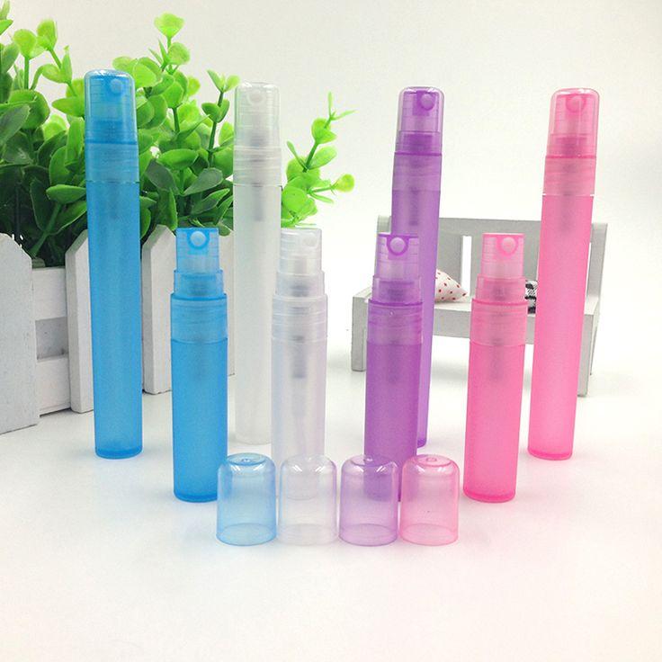 4 Colores 5 ml 10 ml Botellas de Perfume Recargable Del Atomizador Del Aerosol Portable Botellas Vacías Botellas de Envases Cosméticos botella de viaje Z25