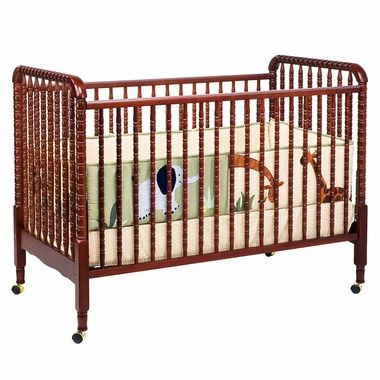DaVinci Jenny Lind 3 in 1 Convertible Crib in Cherry M7391C FREE SHIPPING