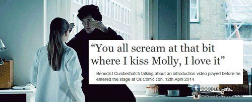 I swooned. SWOONED. | Benedict Cumberbatch | Sherlock