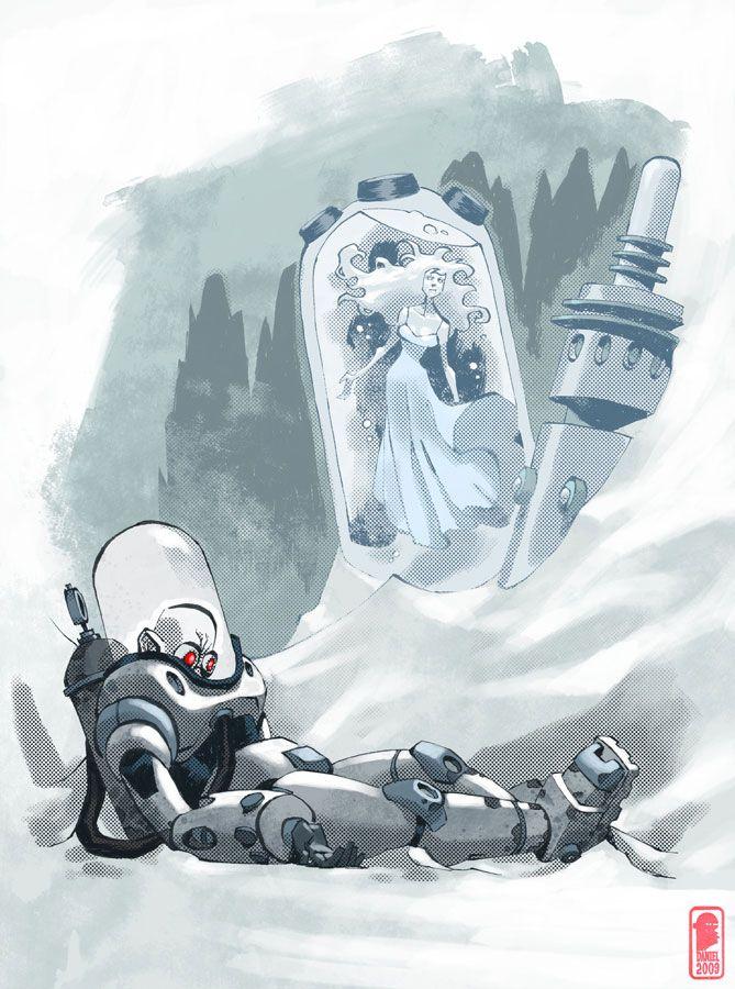 Mister Freeze by Nelson Dániel