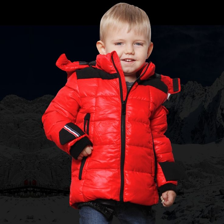 38.99$  Buy now - Harvey&Bo kids winter outdoor outerwear coats waterproof boy hooded ski suit children thick jacket cotton  #shopstyle