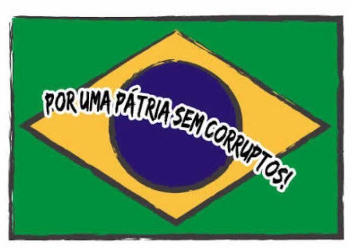 Resultado de imagem para SEM CORRUPÇAO NA ESCOLA