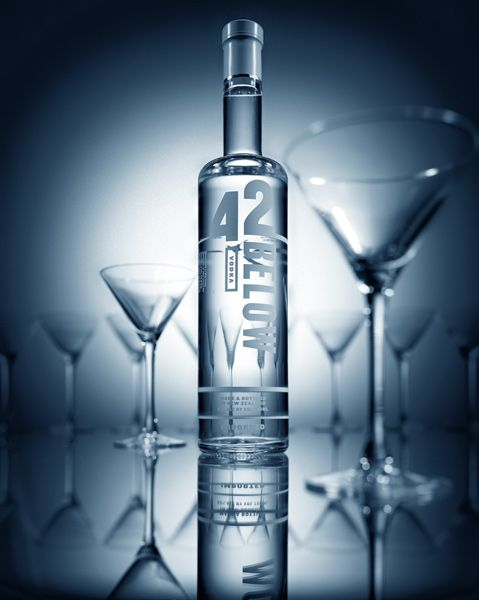 42 below - great New Zealand product and fantastic marketing strategy. 42BELOW founder Geoff Ross, who started brewing vodka from his garage, has turned the company into a worldwide success partly through irreverent, humorous advertising that appealed to a cult audience.
