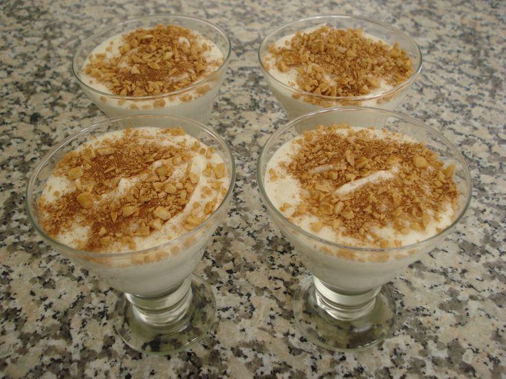 """Mousse de Chocolate Branco e Canela de """"Soul Kitchen"""""""