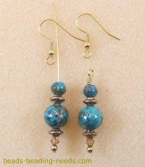 Lampwork Bead Earrings Learn How to Make Earrings