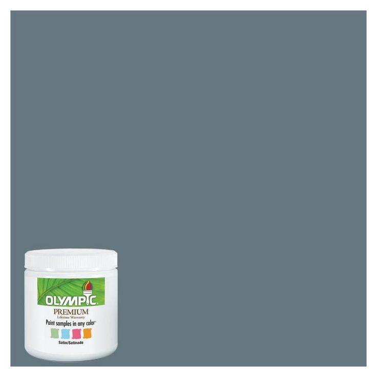 Olympic  Sheffield Gray  Paint Color at Lowes. 17 Best images about Paint on Pinterest   Valspar paint colors