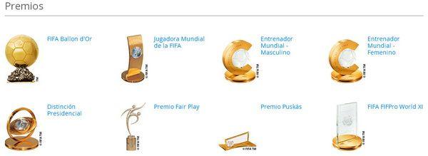 Premios del FIFA Ballon d'Or 2015