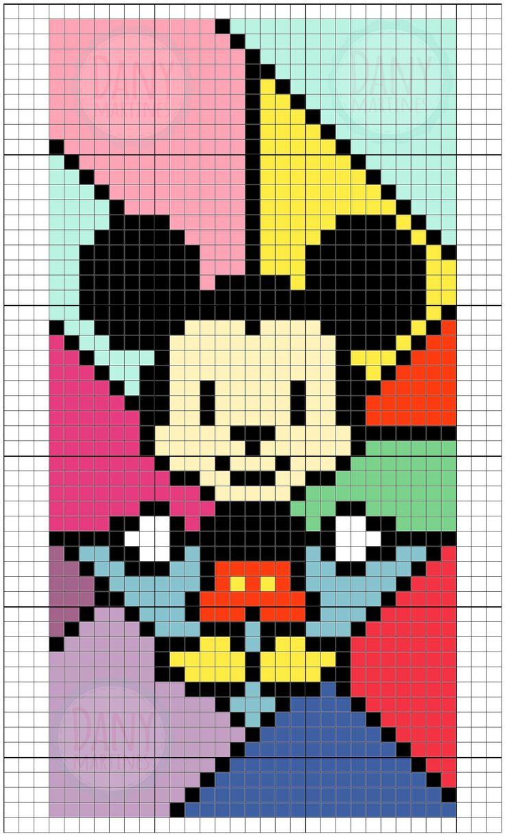 Case Mickey - Assista o tutorial: https://www.youtube.com/watch?v=sA6Cr_5teL8