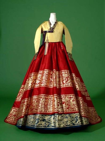 Women's Hanbok. Info reference