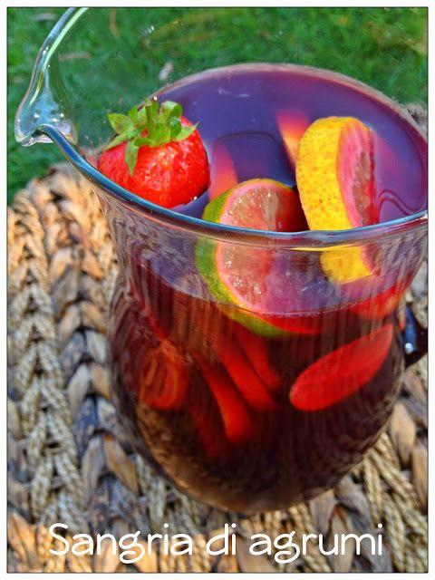 Vivi in cucina: Sangria agli agrumi