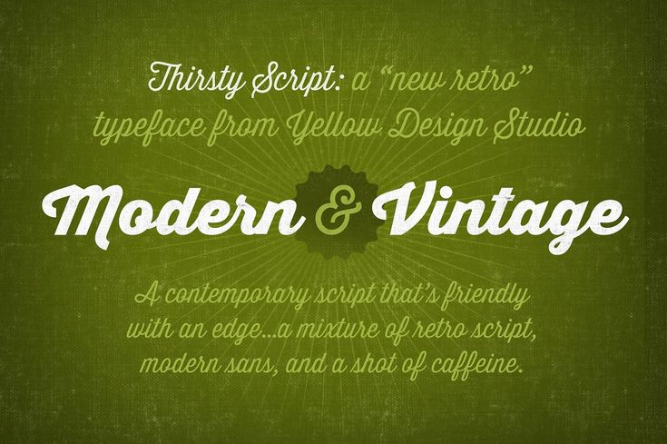 Thirsty Script Font Family by Yellow Design Studio on @creativemarket