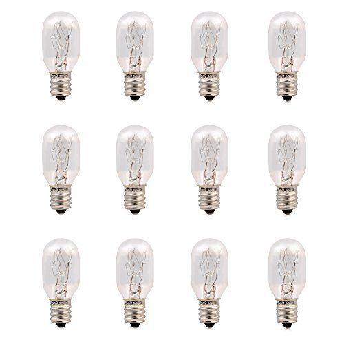 12 Pack-15 Watt Salt Lamp Bulbs Incandescent E12 Socket Candelebra Original Replacement Light Bulbs #Pack #Watt #Salt #Lamp #Bulbs #Incandescent #Socket #Candelebra #Original #Replacement #Light