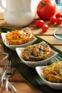 Carb Free Mini Vegetable Quiche