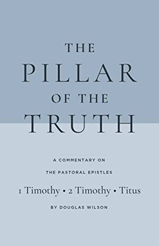 Pastoral Epistles Commentary: The Pillar of the Truth:   The Pastoral Epistles -- 1 Timothy, 2 Timothy, and Titus -- are the Apostle Paul's blueprints for the rapidly growing Church.<br /><br />This readable new commentary The Pillar of the Truth gives background for the three letters, brings out parallels between the Apostolic age and Israel's time in the wilderness, and, in step-by-step fashion, shows how the Apostle Paul was preparing the nascent Church for institutionalization.