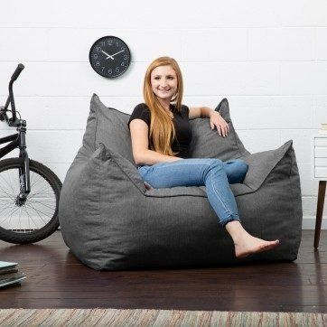Comfort Research Big Joe Lux Bean Bag Lounger & Reviews | Wayfair