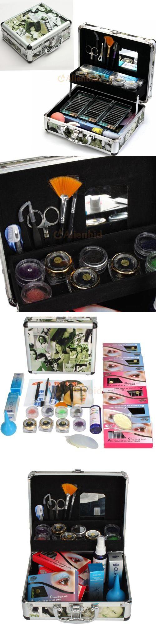 False Eyelashes and Adhesives: Pro High-Quality False Eye Lash Fake Eyelash Extension Full Kit Set With Case Us -> BUY IT NOW ONLY: $53.09 on eBay!