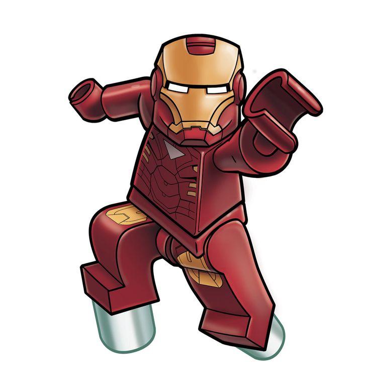 Avengers Lego - IronMan by *RobKing21 on deviantART