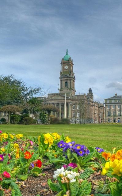 Hamilton Square, Birkenhead, Merseyside, England.
