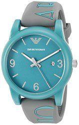 Emporio Armani Men's AR1066 Classic Analog Display Analog Quartz Grey Watch