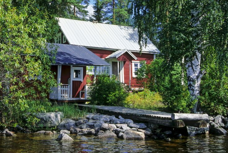 Most of the Finns are on summer vacation in July. During the summer months many Finns move out to their summer cottages.
