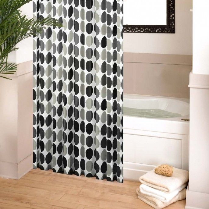 CIRCLE SHOWER CURTAIN - Bathroom - Home & Furniture | Poundstretcher