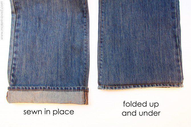 Technique pour ourler un jean sans défaire l'ourlet de base