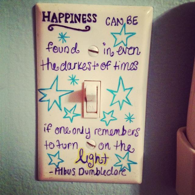 DIY light switch cover b u s i n e s s