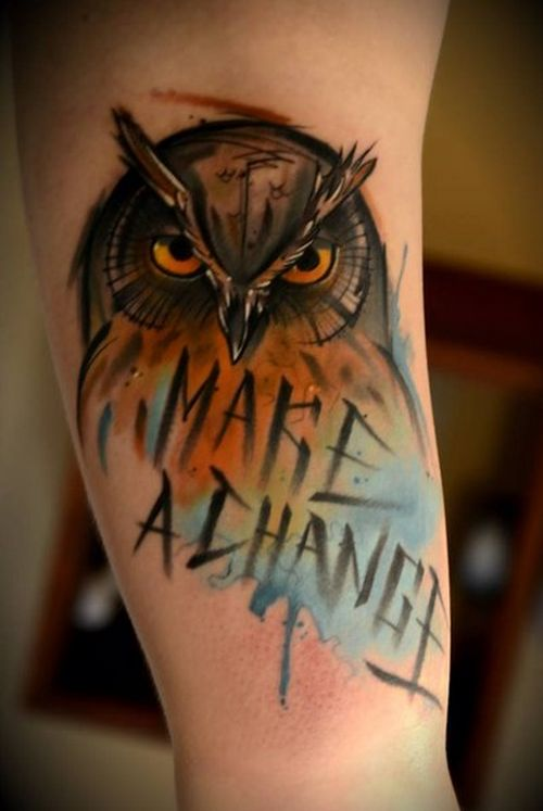 Make a Change #tatts #ink #tattoo