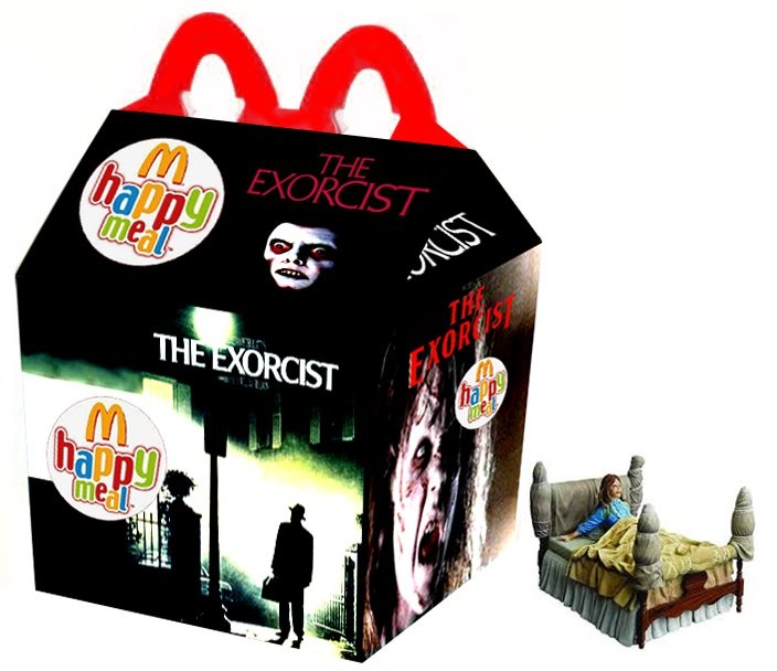 """""""The Exorcist"""" Happy Meal"""