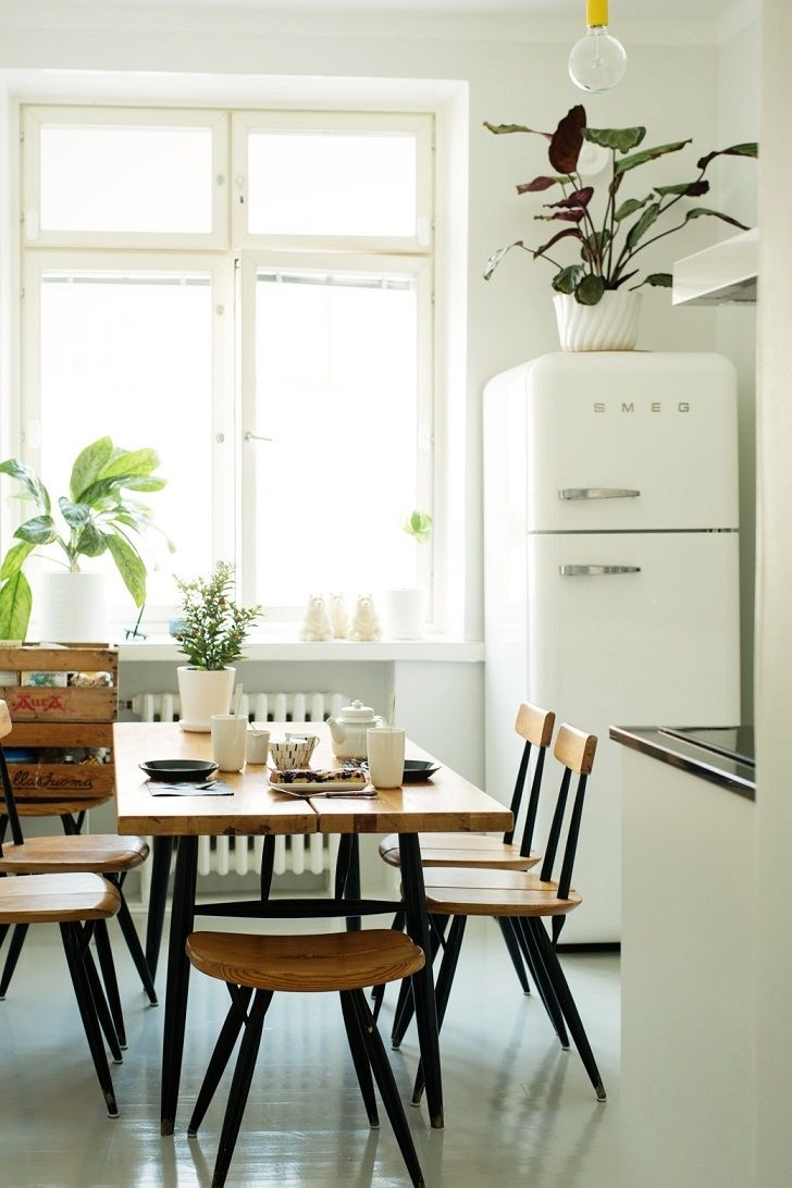 Interior Decoration Of Kitchen 17 Best Ideas About Smeg Fridge On Pinterest Mint Kitchen Black