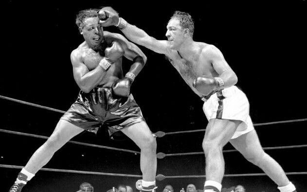 Rocky Marciano vs Archie Mongoose Moore