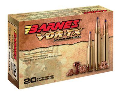 Barnes VOR-TX Centerfire Rifle Ammo - 7mm Remington Magnum - 140 Grain #Ammunition #Ammo #CheapAmmo #CheapAmmunition