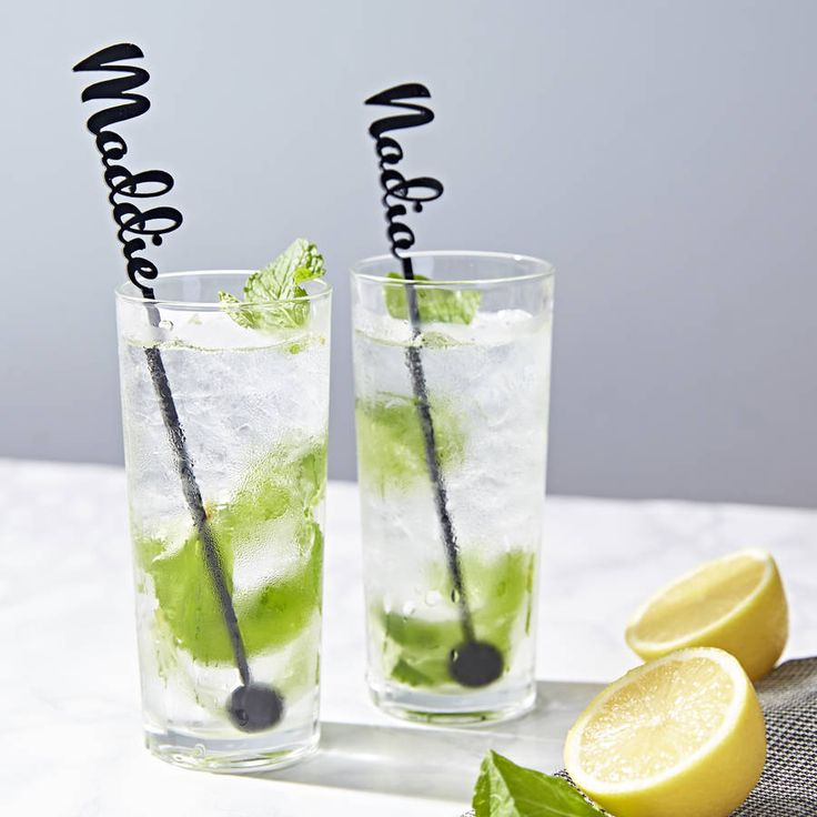 Personalised Drink Stirrers. A delightful personalised stirrer, perfect for dinner parties, birthdays and weddings! The perfect personalised accessory to any drink!