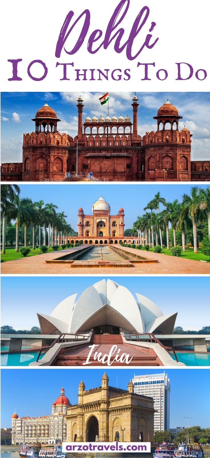 Find out about theist places to see in Delhi, India and some important travel information for Delhi - especially for solo female travelers in India - Delhi. What to do in Delhi I Points of interests in Delhi I Things to do in Delhi I