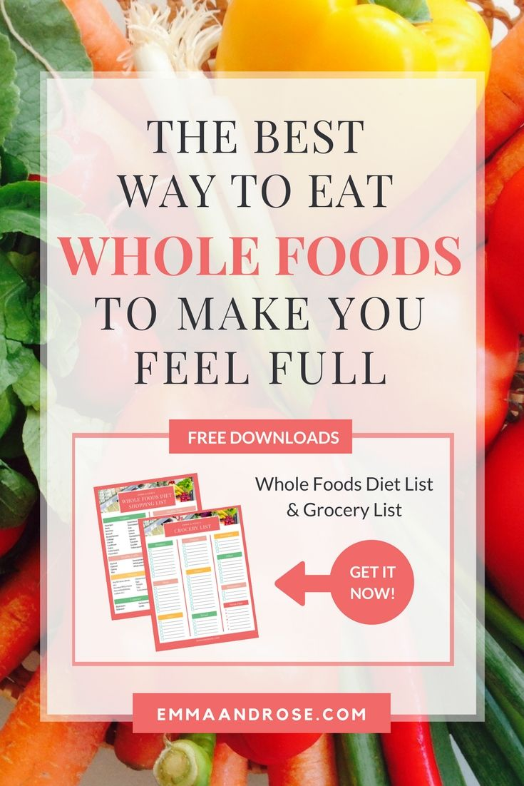 92 best healthy living blogs images on pinterest healthy life the best way to eat whole foods to make you feel full forumfinder Choice Image