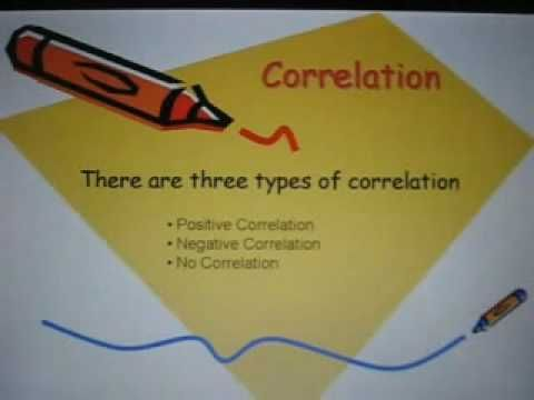 This video covers the basic vocabulary necessary for describing scatter plots and the traits of linearity. For example, it goes through a few examples of positive, negative, and no correlation. Remember: two variables ARE related if they show a positive OR negative correlation. They are NOT related if there is no correlation.