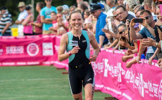 Kaisa Lehtonen triathlon voittoon