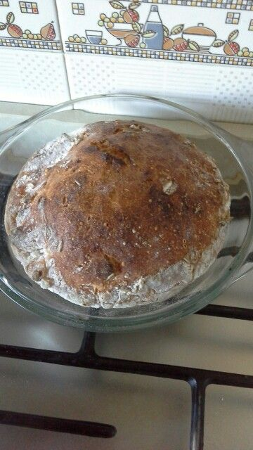 No knead bread - gluten free
