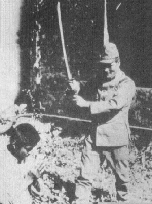 an account of the nanjing massacre by the japanese troops The problem of the remaining—and killed—chinese soldiers  nanjing could  even be proved not to be the biggest japanese massacre in china (for all of   and also taking into account the frequent multiple rapes that many of them  suffered,.