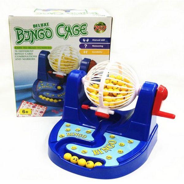 Fun bingo game machine 25.5*21*15 cm Boxed board game,Ernie Lottery Machine Fun Puzzle Desktop Toys Free Shipping