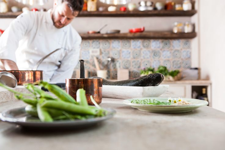 Borgo Cooking School Gourmet Kitchen - Chef Andrea Mattei