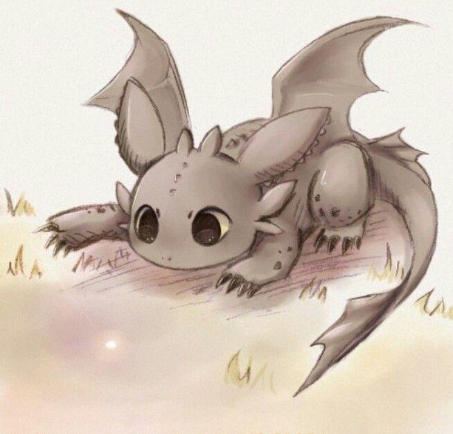 Милый дракон картинки карандашом