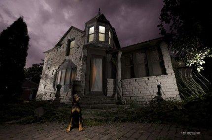Spännande hemsökta hus och slott