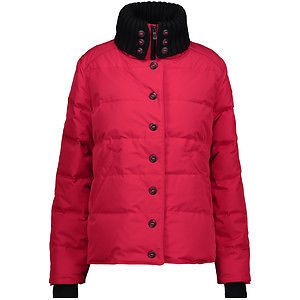 Canada Goose ladies red Brigette jacket