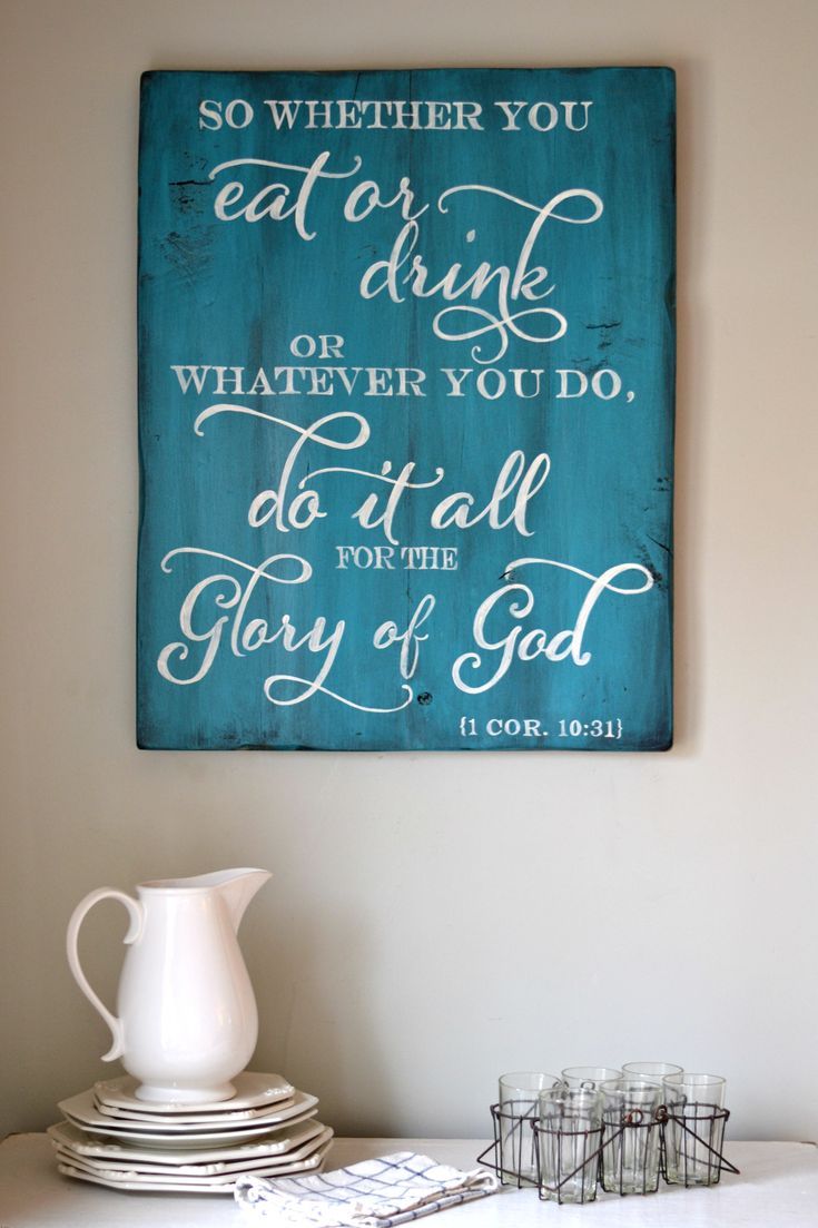The 102 best Wall decor images on Pinterest | Bible scriptures ...