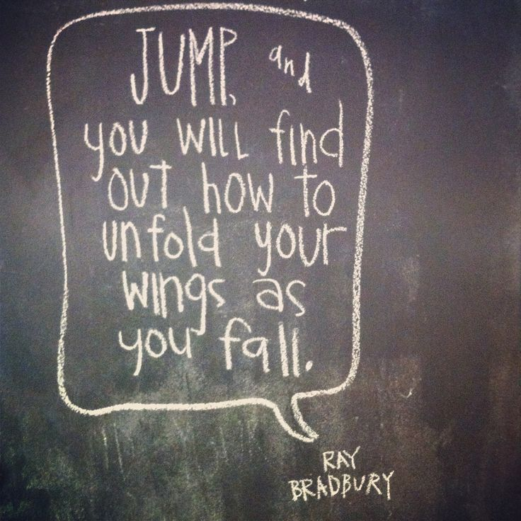 Jump And You Will Find Out How To Unfold Your Quotes At Repinnednet