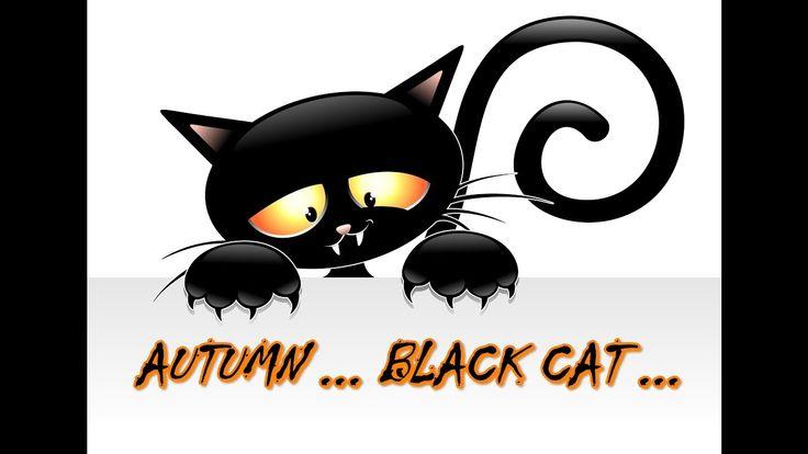 ОСЕНЬ ...  ЧЕРНЫЙ КОТ... - AUTUMN ... BLACK CAT ...