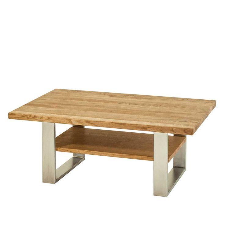 Wohnzimmer Holztisch Massiv Besonders Couchtisch Aus Wildeiche Edelstahl Jetzt Bestellen Unter