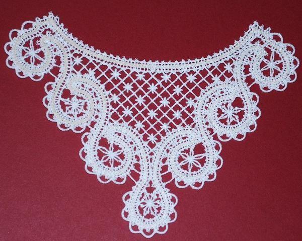 Advanced Embroidery Designs - FSL Battenberg Blouse Insert