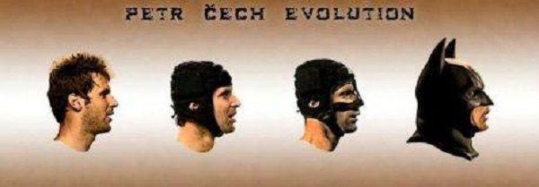 Czeski bramkarz Chelsea Londyn zmienia się w bohatera komiksów • Ewolucja Petra Cecha w słynnego batmana • Zobacz śmieszne zdjęcie >>
